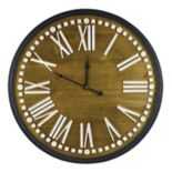 Belle Maison Rustic Farmhouse Wall Clock