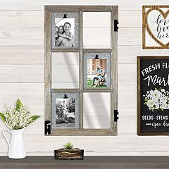 Belle Maison Farmhouse 6-Opening 4' x 6' Collage Frame