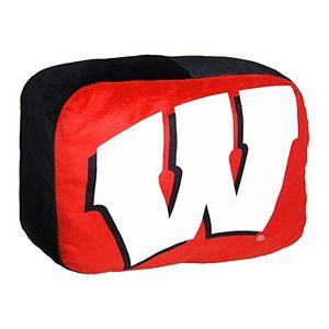 Wisconsin Badgers Logo Pillow