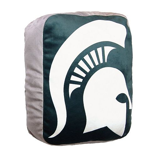 Michigan State Spartans Logo Pillow