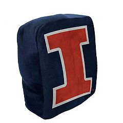 Illinois Fighting Illini Logo Pillow