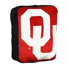 Oklahoma Sooners Logo Pillow