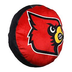 Louisville Cardinals Logo Pillow