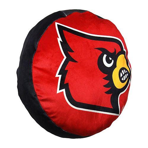 Louisville Cardinals Logo Pillow
