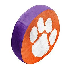 Clemson Tigers Logo Pillow