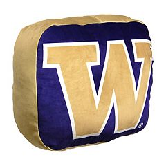 Washington Huskies Logo Pillow
