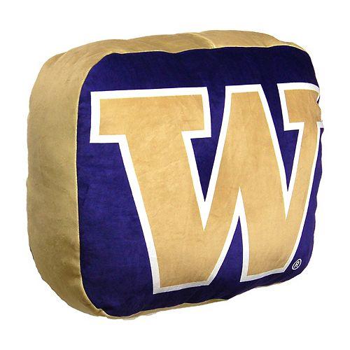 Washington Huskies Logo Pillow