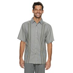 6d4216882 Men's Haggar Cool 18® Classic-Fit Microfiber Button-Down Shirt