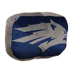 Nevada Wolf Pack Logo Pillow