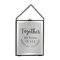 The Gallery Collection 'Together' Wall Decor