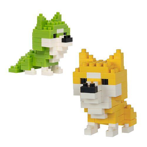 Protocol PixelPet 3D Block Ike the Dog Puzzle Set