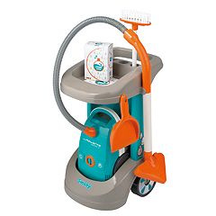 Smoby Rowenta Cleaning Trolley with Vacuum Cleaner