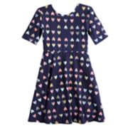 Girls 4-12 Jumping Beans® Print Skater Dress