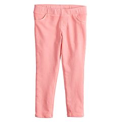 Toddler Girl Jumping Beans® Solid Roll-Cuff Jeggings