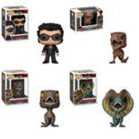 Funko POP! Movies Jurassic Park Collectors Set: Dr. Ian Malcolm, Tyrannosaurus, Velociraptor & Dilophosaurus
