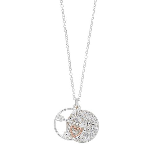 """Grace and Gratitude """"God is Great"""" Crystal Pendant Necklace"""