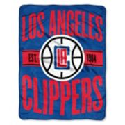 Los Angeles Clippers Throw Blanket