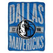 Dallas Mavericks Throw Blanket