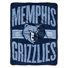 Memphis Grizzlies Throw Blanket