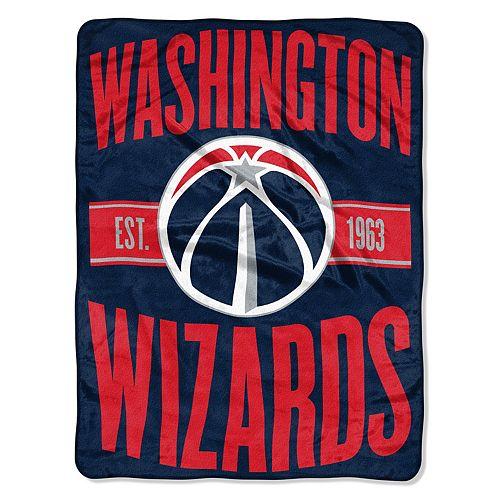 Washington Wizards Throw Blanket