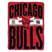Chicago Bulls Throw Blanket