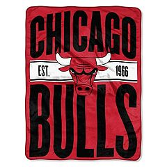 Chicago Bulls Throw Blanket