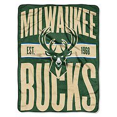 Milwaukee Bucks Throw Blanket