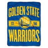 Golden State Warriors Throw Blanket