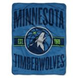 Minnesota Timberwolves Throw Blanket