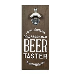 New View 'Beer Taster' Bottle Opener Wall Decor