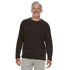 Men's Croft & Barrow® Sweater Fleece Lounge Top