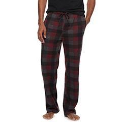 Men's Croft & Barrow® Patterned Sweater Fleece Lounge Pants