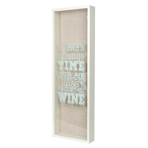 """New View """"Glass of Wine"""" Cork Catcher Table Decor"""