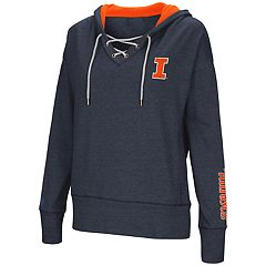 Women's Illinois Fighting Illini Rhymes Lace-Up Hoodie