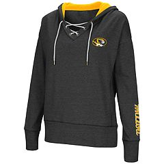 Women's Missouri Tigers Rhymes Lace-Up Hoodie