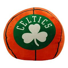 Boston Celtics Basketball Pillow
