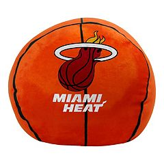 Miami Heat Basketball Pillow