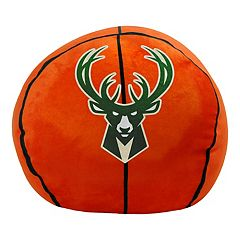 Milwaukee Bucks Basketball Pillow