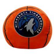 Minnesota Timberwolves Basketball Pillow