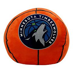 Minnesota Timberwolves Basketball Pillow