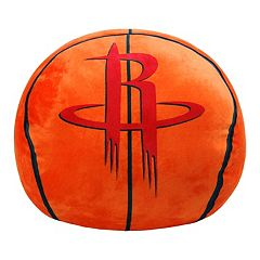 Houston Rockets Basketball Pillow