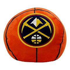Denver Nuggets Basketball Pillow