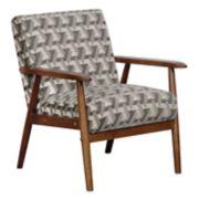 Pulaski Mid-Century Modern Accent Chair