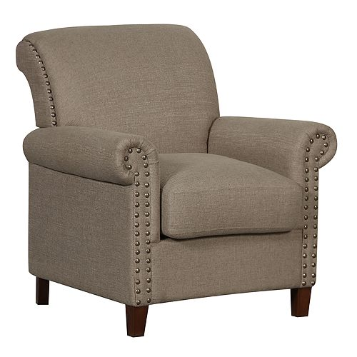 Pulaski Traditional Roll Arm Accent Chair