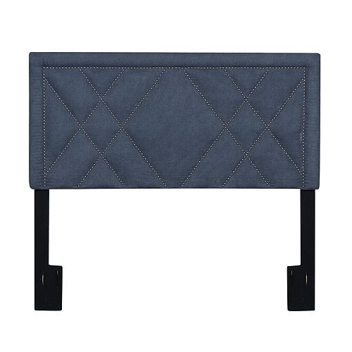 Pulaski Geometric Upholstered Headboard