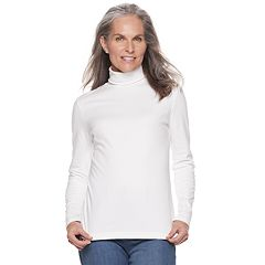 Women's Croft & Barrow® Classic Turtleneck Top