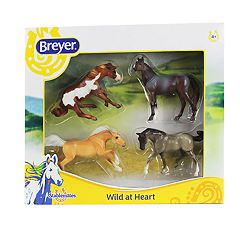 Breyer Stablemates Wild at Heart 4-Piece Set