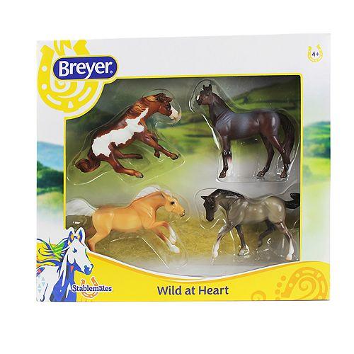 Breyer Stablemates Wild at Heart 4-Piece Set