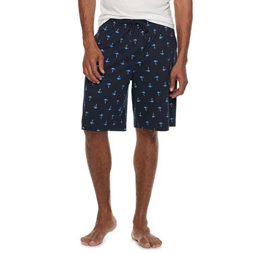 Men's Croft & Barrow® Patterned Sleep Shorts