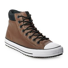 Men s Converse Chuck Taylor All Star PC Boot Mason High Top Shoes. Black  White Brown ... 466e55a02